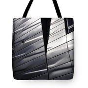 Steel Currents Tote Bag