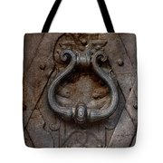 Steel Decorated Doorknob Tote Bag