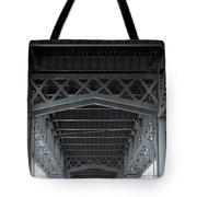 Steel Girder Bridge Tote Bag