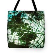 Steel Globe At The Trump International Tote Bag