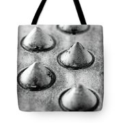 Steel Kisses Tote Bag