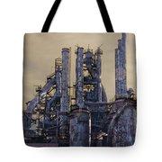 Steel Mill - Bethlehem Pa Tote Bag by Bill Cannon