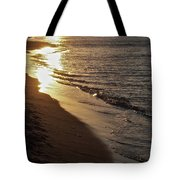 Steel Mill Sunset Tote Bag