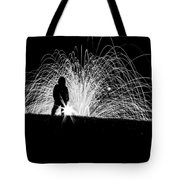 Steel Silhouette  Tote Bag