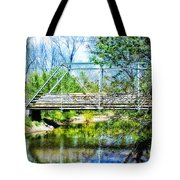 Steel Span Bridge Gettysburg Tote Bag