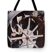 Steel Tractor Tote Bag
