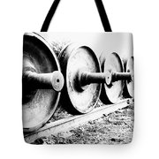 Steel Wheels Tote Bag