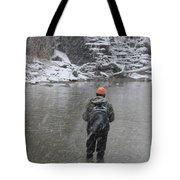 Steelhead Fishing Tote Bag