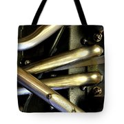 Steely Arms Tote Bag
