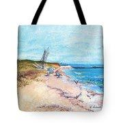 Steep Beach Tote Bag