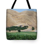 Steep Golf Cart Path Tote Bag