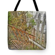 Steep Steps To Beach - Finger Lakes Tote Bag