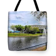 Steinbrenner Field Lake 2 Tote Bag