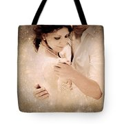 Stellar Couple Dance Tote Bag