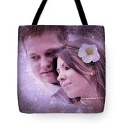 Stellar Couple Tote Bag