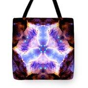 Stellar Spiral Eagle Nebula Vi Tote Bag