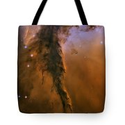 Stellar Spire In The Eagle Nebula Tote Bag by Adam Romanowicz