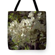 Stem Of Locust Flowers Tote Bag