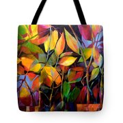 Stems And Leaves No. 76 Tote Bag