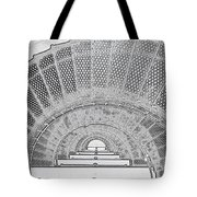 Stencil Up Lighthouse Stairs Tote Bag