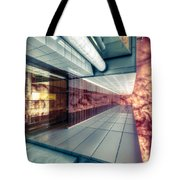 Step Carefully On The Balcony Tote Bag
