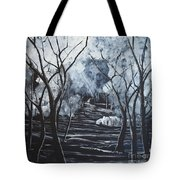 Step Into The Woods Tote Bag