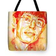 Stephen Hawking Portrait Tote Bag