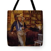 Stepping Back In Time At Bent's Old Fort Tote Bag