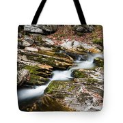 Stepping Down The River Tote Bag