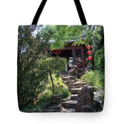 Stepping Into Harmony Tote Bag