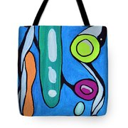 Stepping Into The Sixties Tote Bag