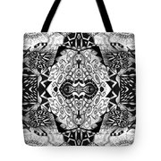Stepping Into The Unknown - A Sometimes A Mystery Compilation Tote Bag