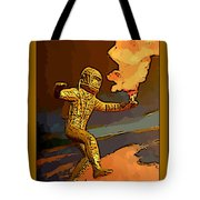 Stepping Into The Unknown Tote Bag