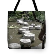 Stepping Stone Kyoto Japan Tote Bag
