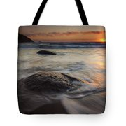 Stepping Stones Tote Bag by Mike  Dawson