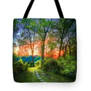 Stepping Stones To The Light Tote Bag
