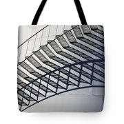 Steps And Shadow On Tank Tote Bag