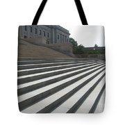 Steps Of Justice Tote Bag