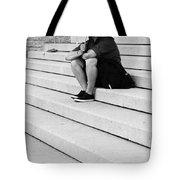 Steps Of Rain Tote Bag