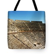 Steps Of The Theatre In The Ruins Tote Bag