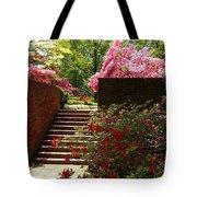 Steps To Azalea Fairyland Tote Bag
