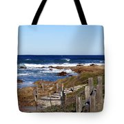 Steps To The Sea Tote Bag