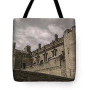 Sterling Castle Scotland Sterling Closed Grey Tote Bag