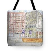 Nyu Stern School Of Business Tote Bag