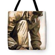 Steve Mcqueen Artwork Tote Bag by Sheraz A