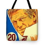 Steve Mcqueen Pop Art - 20 Tote Bag