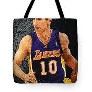 Steve Nash Tote Bag
