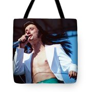 Steve Perry Of Journey At Day On The Green Tote Bag