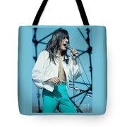 Steve Perry Of Journey At Day On The Green - July 1980 Tote Bag