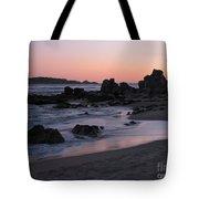 Stewart's Cove At Sunset Tote Bag